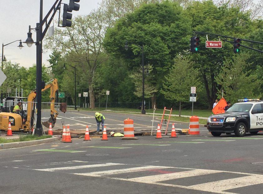 Infrastructure repair Trenton